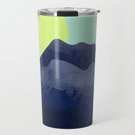 Sunset Mountain Travel Mug