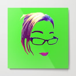 Lemme Take a Selfie Metal Print