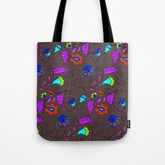 Ethnic Floral Flow Tote Bag