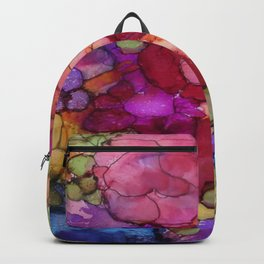 L and L Flower Explosion Backpack