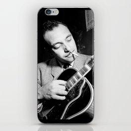 Django Reinhardt at the Aquarium Jazz Club iPhone Skin