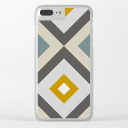 Mid West Geometric 04 Clear iPhone Case
