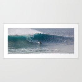 Surfing Rhode Island Art Print