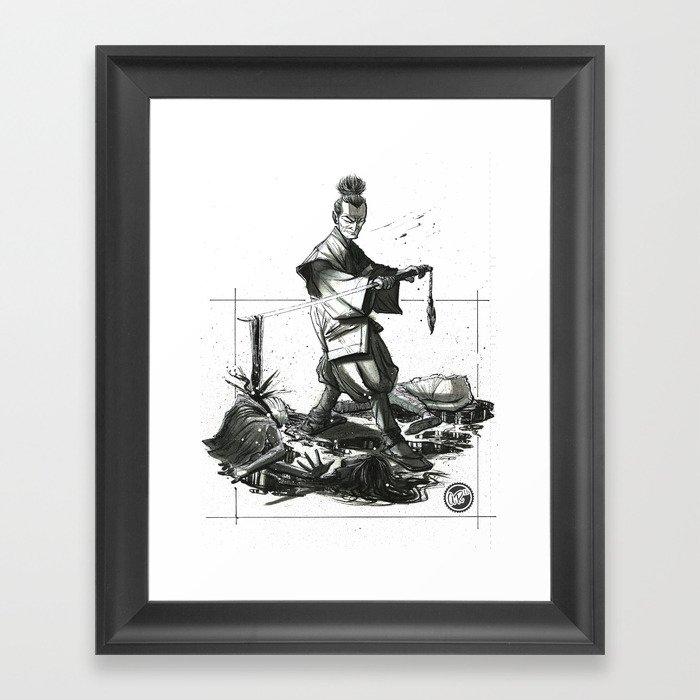 B4H Promo Concept Art Framed Art Print