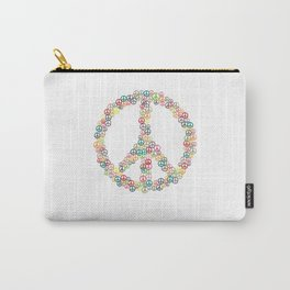 Peace Sign Hippie Peace Symbol Love Carry-All Pouch