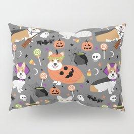 Corgi halloween costume ghost mummy vampire howl-o-ween dog gifts Pillow Sham