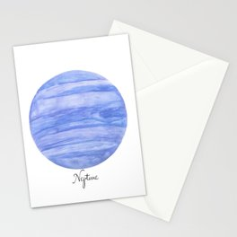 Neptune planet Stationery Cards