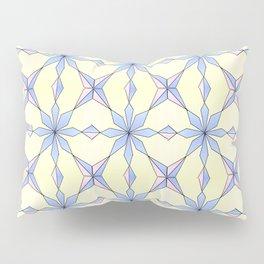 symetric patterns 19 -mandala,geometric,rosace,harmony,star,symmetry Pillow Sham