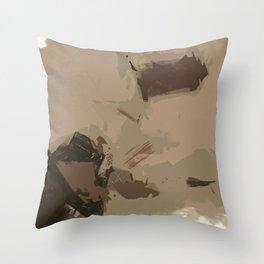 Mountain Splash Throw Pillow