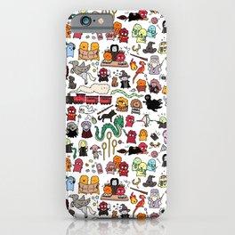 Kawaii Harry Potter Doodle iPhone Case