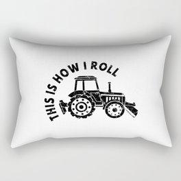 Tractor Farmer Agriculturer Farm Farming Gift Idea Rectangular Pillow