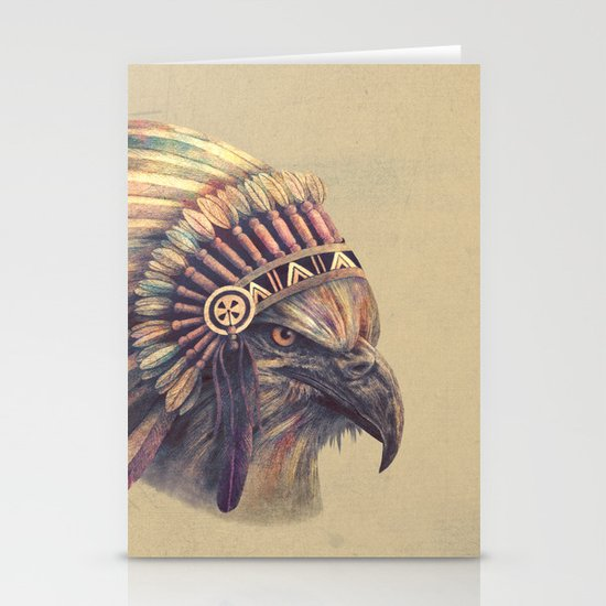 Chief - colour option Stationery Cards