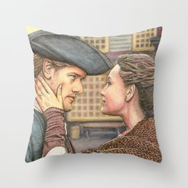 A brand new world Throw Pillow