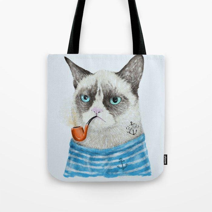 Sailor Cat I Tote Bag
