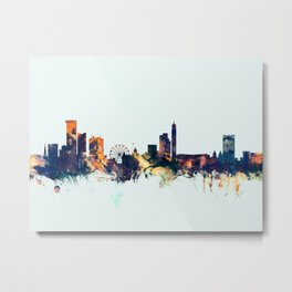 Birmingham England Skyline Metal Print
