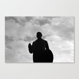 Statue 01 Canvas Print