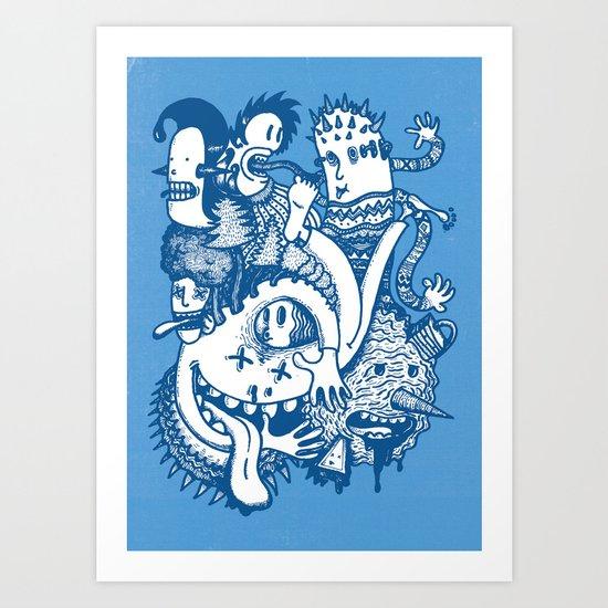 ILLOGICAL MADNESS Art Print