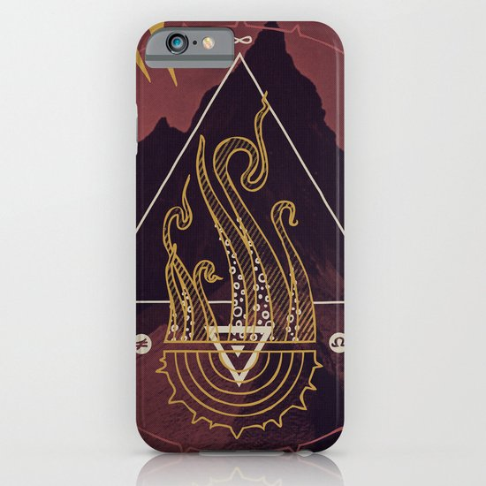 Mountain of Madness (alternate) iPhone & iPod Case