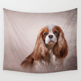 Dog breed Cavalier King Charles Spaniel Wall Tapestry