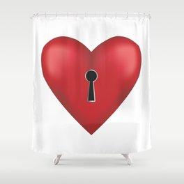 Unlock me Shower Curtain