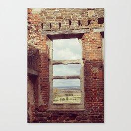 Mansion Window Canvas Print
