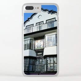 MOL'S COFFEE HOUSE EXETER DEVON Clear iPhone Case