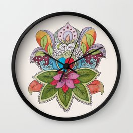 Alive I Wall Clock