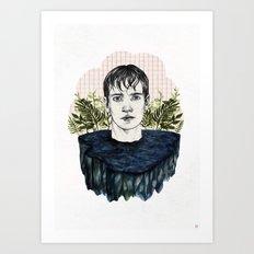 LAKE BOY Art Print