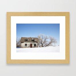 House on 831 #1 Framed Art Print