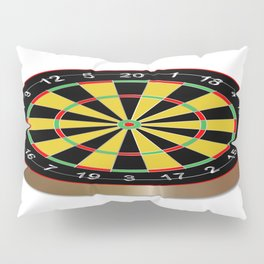 Classic Typical Darts Board Pillow Sham