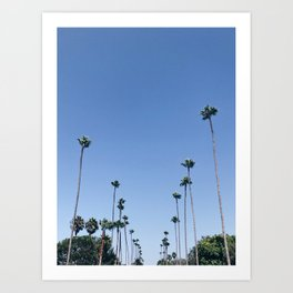 California Dreaming / Venice Beach, Los Angeles Art Print