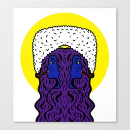 Gemini Goddesses Canvas Print
