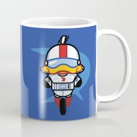 gizmo Mugs featuring Hello Gizmo by Hoborobo