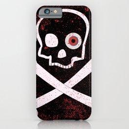 Jolly Roger With Eyeballs iPhone Case