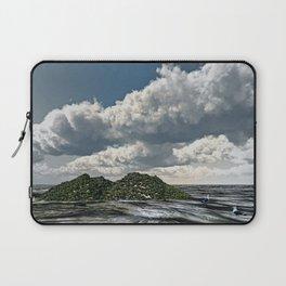 Shoreline of the Island Laptop Sleeve