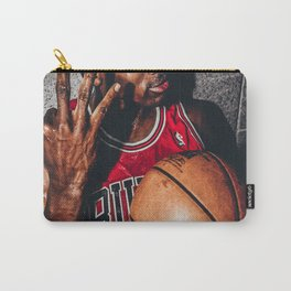 K.B King of Basketball Carry-All Pouch