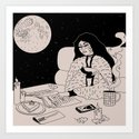 Lunar Cafe by deluxewitch
