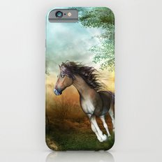 Beautiful brown horse iPhone 6s Slim Case
