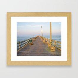 Rodanthe Pier Framed Art Print