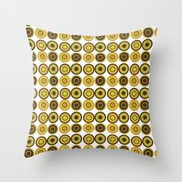 1970s Wallpaper Throw Pillow