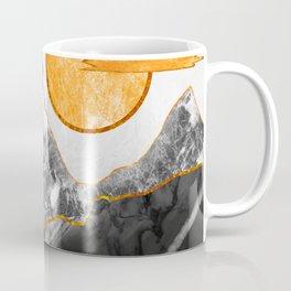Marble mountains and the fire tree Coffee Mug
