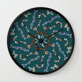 Symmetrical Central Dogma Wall Clock