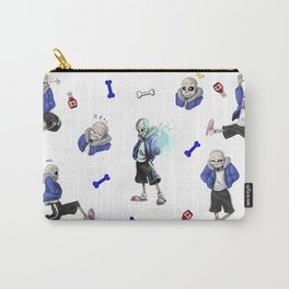 Sans doodles Carry-All Pouch