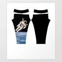 nasa Art Prints featuring NASA Space Walk by Kippy
