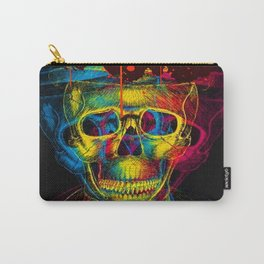 SKULL ILUSION Carry-All Pouch