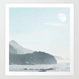 Surf Beach Art Print