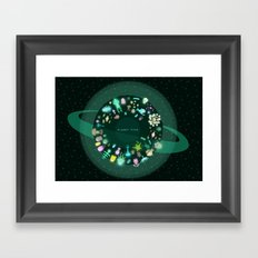 Planet Five Framed Art Print