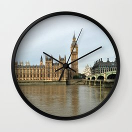 Houses Of Parliament Wall Clock
