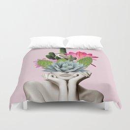 Cactus Lady Duvet Cover