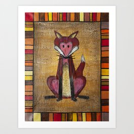 Fox Den Art Print